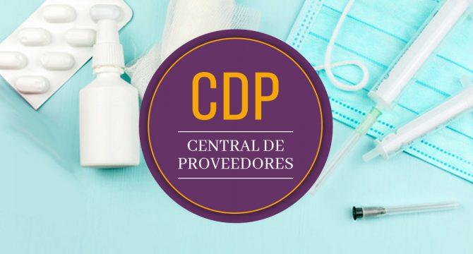 Central de Proveedores al servicio institucional durante la pandemia